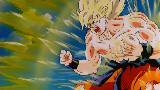 File:Goku SS Powering Up (Cooler's Revenge).jpg