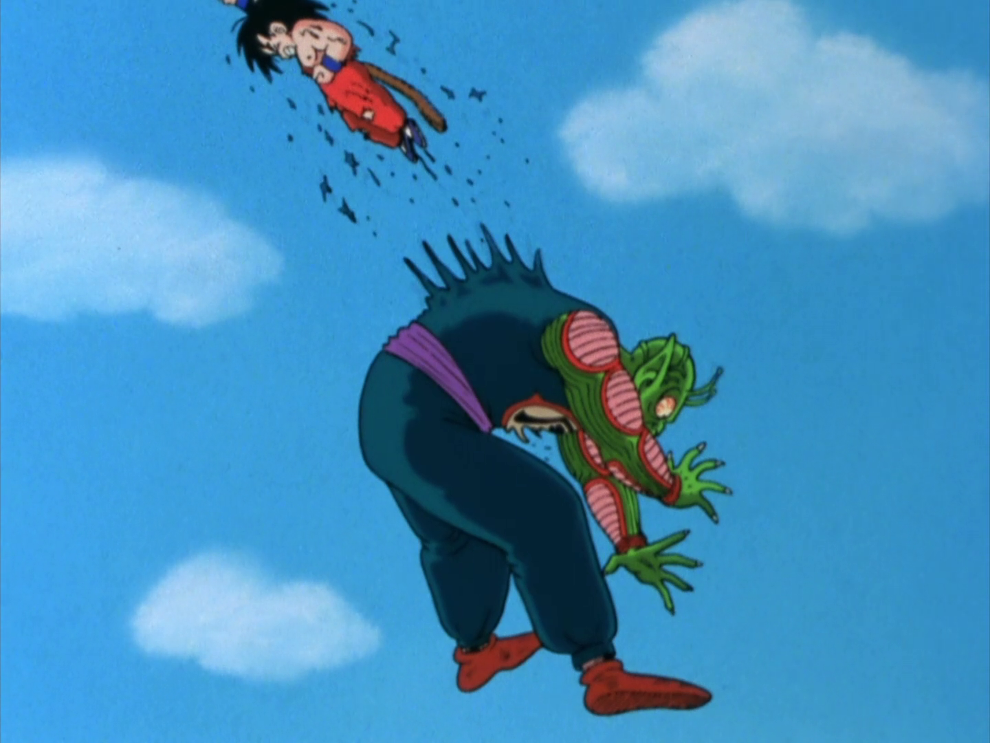 Image result for goku vs king piccolo