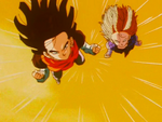 17 and 18 Attack Gohan and Trunks