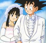 Chichi 20goku 20married