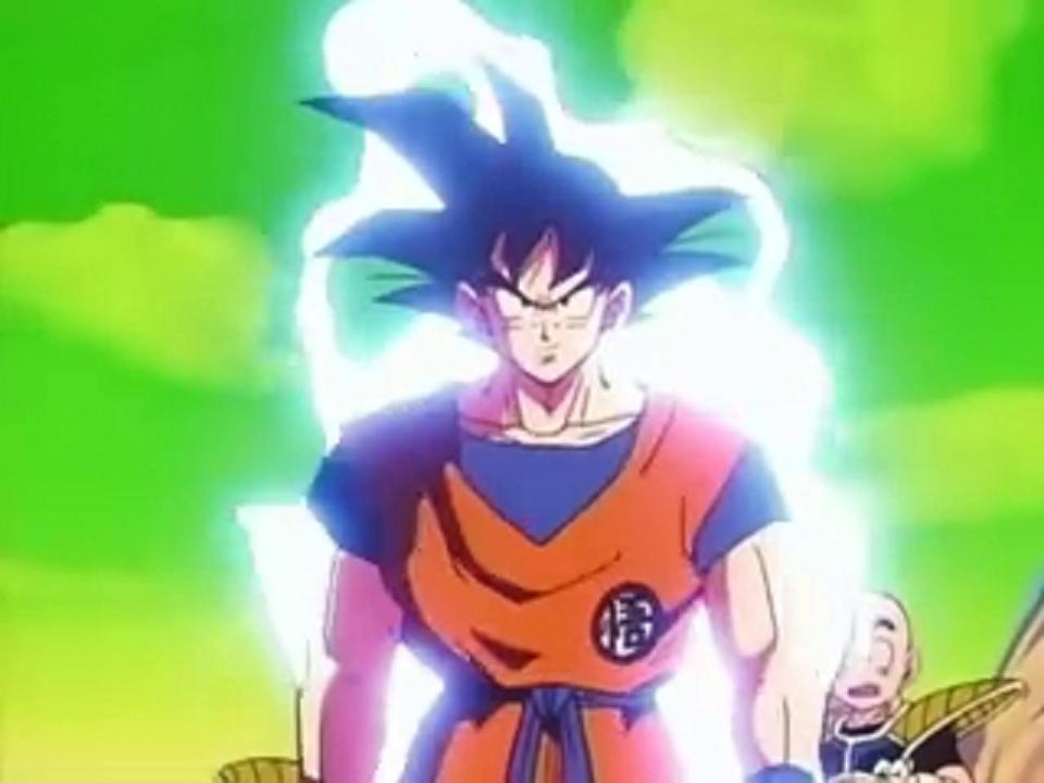 Dragon Ball Z Power Up Gif