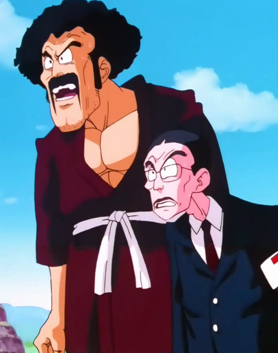 mr satan dragon ball