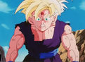 Teen gohan beating up by turles