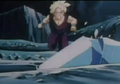 Gohan runing to hlep goku