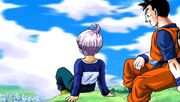 Future Trunks Future Gohan opening Another Road