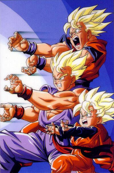 Goku,Gohan,Gotendragonball-z-image-2