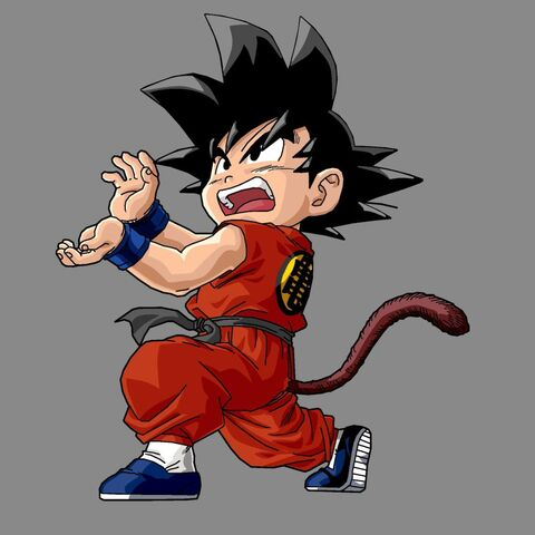File:Kid Goku by drozdoo.jpg