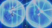 Xenoverse SS3 Goku and Future Warrior Kamehameha