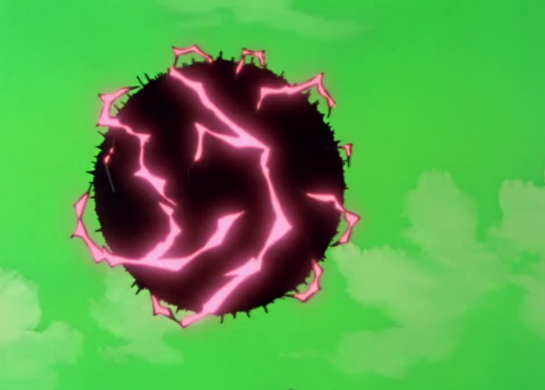 Dragon Ball z Frieza Death Frieza's Black Hole Death Ball