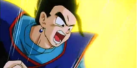 Gohan Powers Up