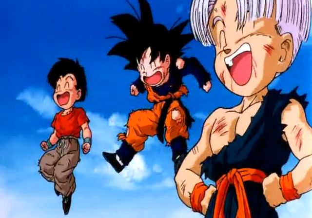 File:Trunks, Goten and Krillin after their victory.PNG