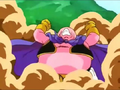 The Evil of Men - Majin Buu angry after releasing the evil inside him