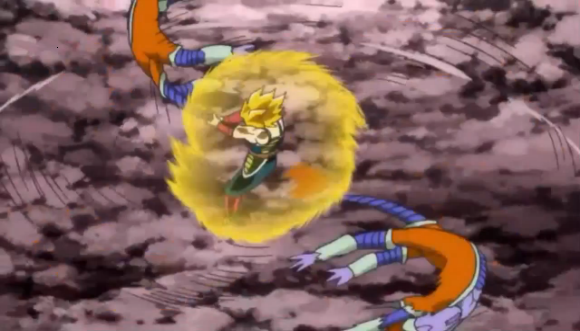 File:Episode of Bardock - Bardock dragonthrow.png