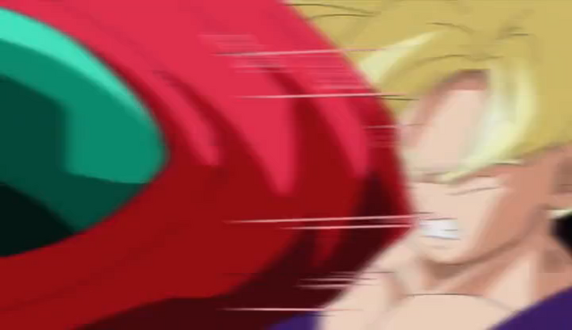 File:PTETS - Hatchiyack punches Gohan.png