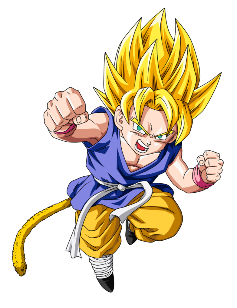 Image - Ssj kid goku update by boscha196-d37w9uk.png | Dragon Ball ...