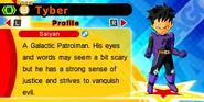 DB Fusions Saiyan Patrolman Tyber (Character Profile)