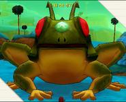 Giant time breaker frog ginyu