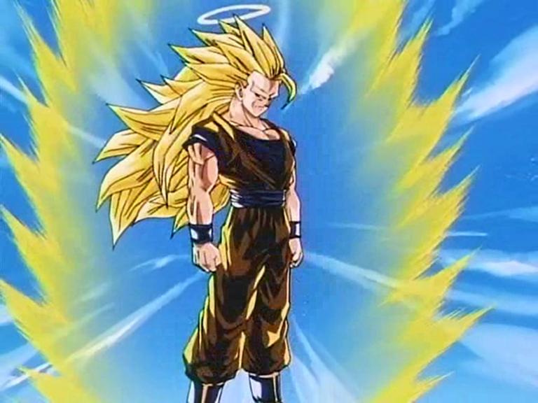 Dibujo De Goku Super Sayayin Dios Fase 5 Pintado Por En: Datei:Son Goku Als Super-Saiyajin 3.jpg