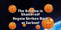 The Scheme Is Shattered! Vegeta Strikes Back at Zarbon!