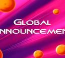 Global Announcement