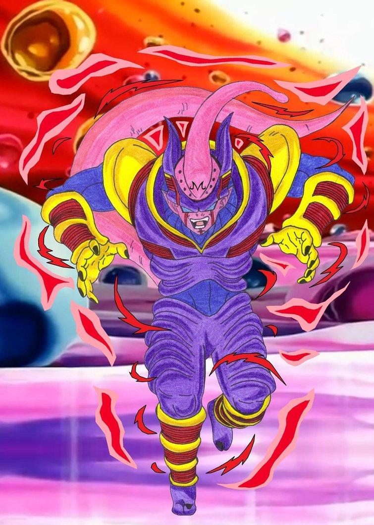 ultra majin buu dragon ball af fanon wiki fandom