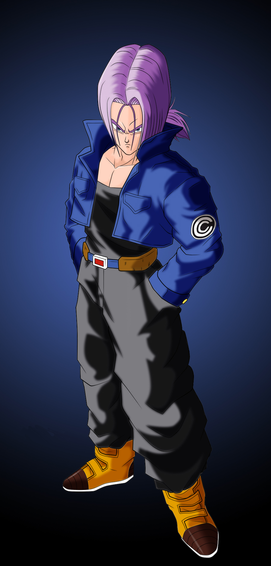 Future Trunks | Dragon Ball AF Fanon Wiki | FANDOM powered ...