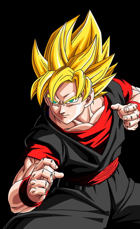 Goku y broly mueren la nueva fase de goku dragon ball - Dragon ball z baby broly ...
