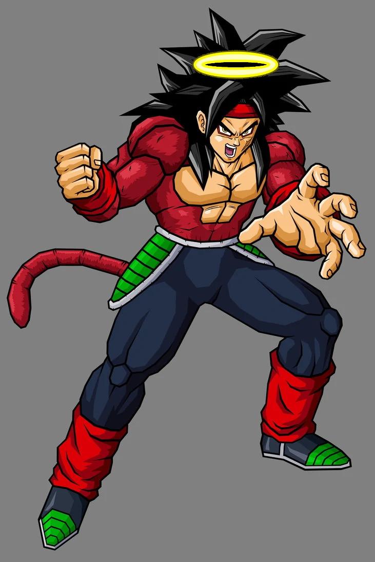 Image - Super Saiyan 4 Bardock (Xz).jpg | Dragonball Fanon ...