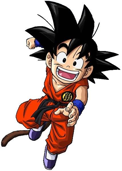 Goku Jr. (DBAU)   Dragonball Fanon Wiki   Fandom powered ...