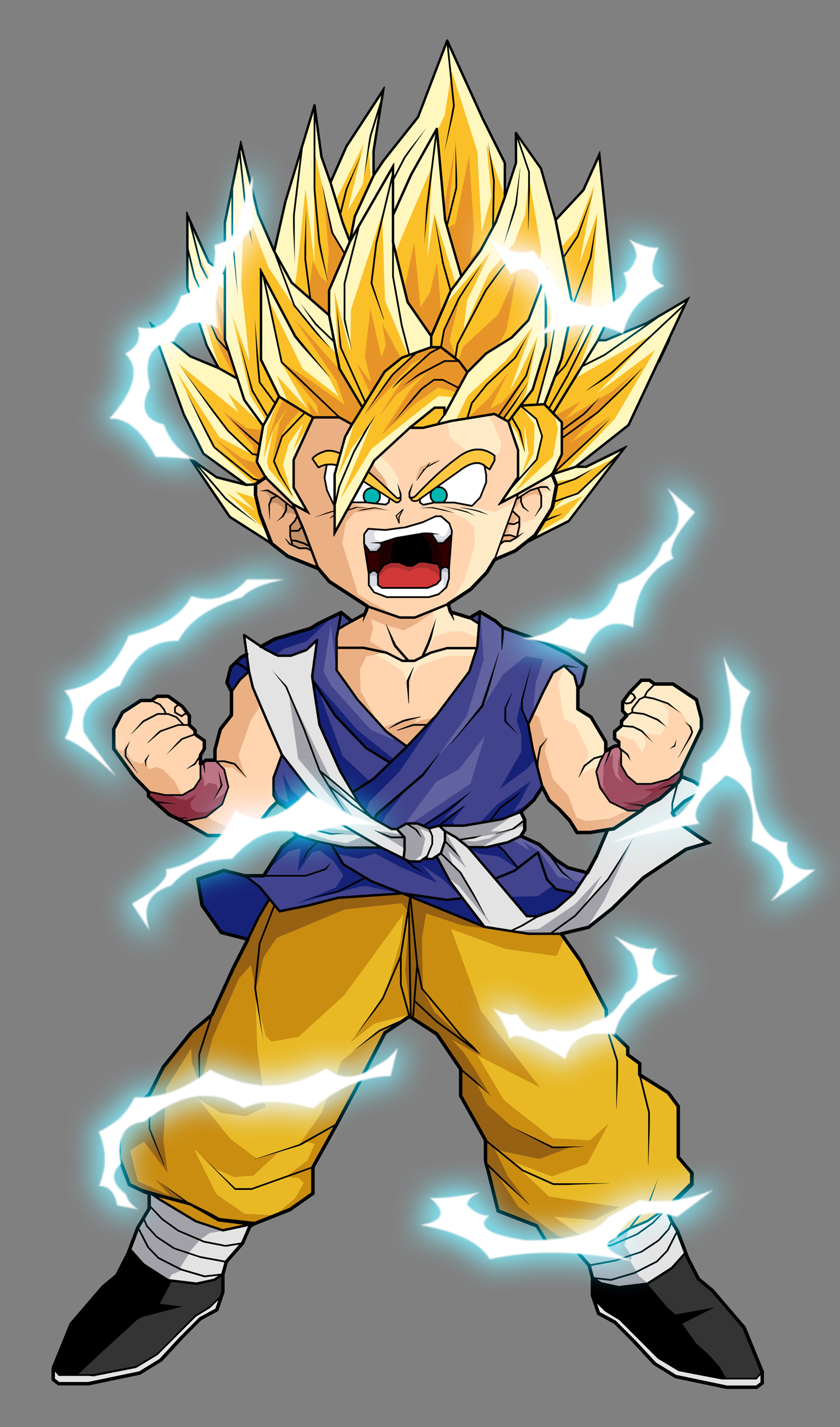 Goku xz dragonball fanon wiki fandom powered by wikia - Goku 5 super saiyan ...