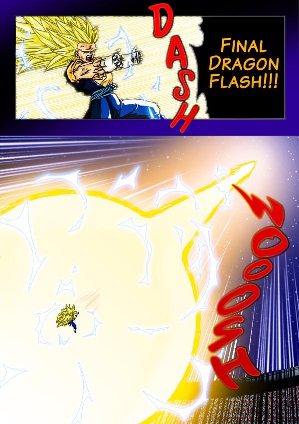 Dragon Ball z Vegeta Final Flash Final Dragon Flash Vegetto's