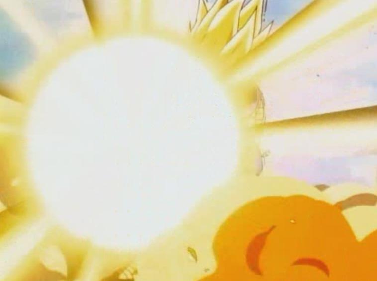 Dragon Ball z Vegeta Final Flash Vegeta Fires The Final Flash