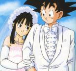 Chichi 20goku 20married