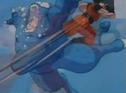 Goku kicks