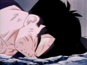 Gohan fell to ground dead after being killed by turles 4