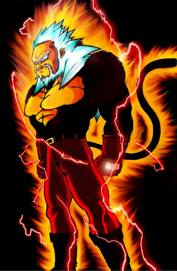 Goku Super Saiyan God by XYelkiltroX on DeviantArt