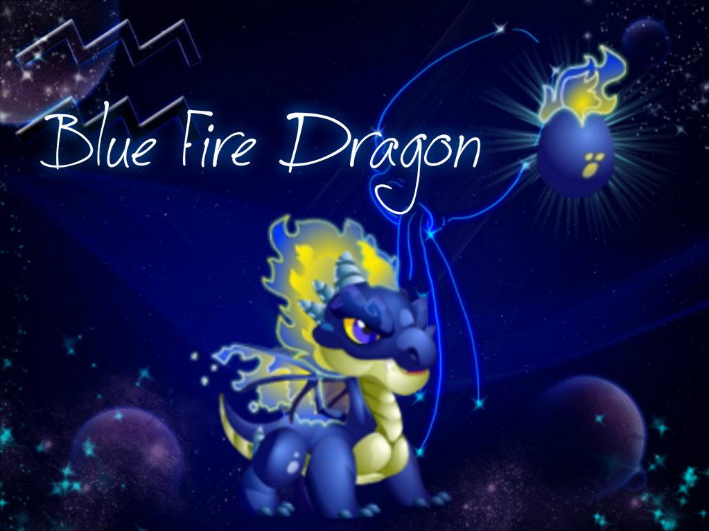 Blue Fire Dragon Blue Fire Dragon