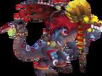 Aztec Priest Dragon 3