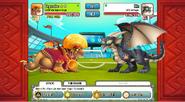 Aztec Emperor fighting Cat