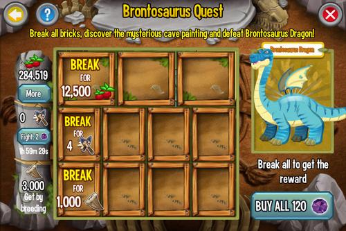 Brontosaurus Quest