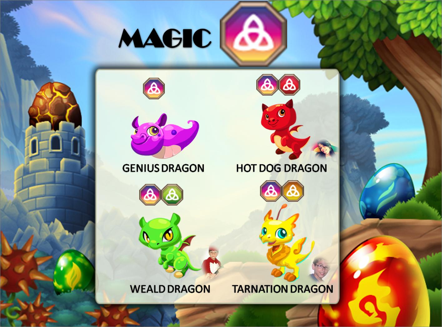 %name War Dragons App Dragons