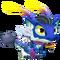 Blue Alien Dragon 1