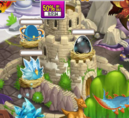 Double Ice + Saturn + Dark in Hatchery