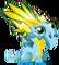 Fluorescent Dragon 1