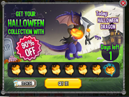 Halloween Dragon Halloween Collection
