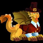 Thanksgiving Dragon 3