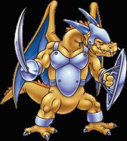 DQVII3DS - Mandrake mercenary