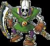 DQMJ2 - Skeleton soldier