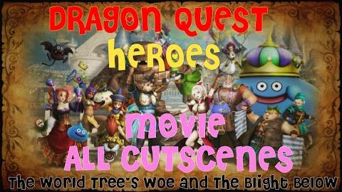 Dragon Quest Heroes FULL MOVIE - All Cutscenes (1080P-60FPS HD) PS4