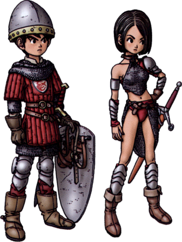 File:DQIX - Warrior.png